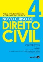 Livro - Novo Curso de Direito Civil Vol 4 - Contratos - 3ª Ed. 2020 -