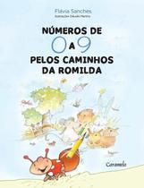 Livro - Números de 0 a 9 nos caminhos de Romilda -