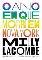 Livro - O ano em que morri em Nova York -