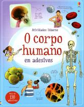 Livro - O corpo humano em adesivos -