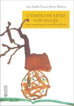 Livro - O ensino das artes e de inglês -