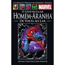 Livro O Espetacular Homem-Aranha De Volta ao Lar - Marvel