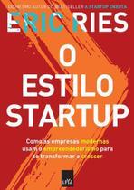 Livro - O estilo startup -