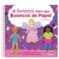Livro - O fantástico livro dos bonecos de papel -