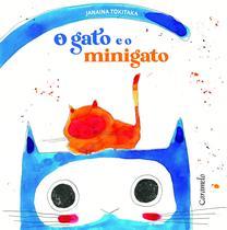 Livro - O gato e o minigato -