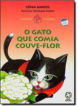 Livro - O gato que comia couve-flor -