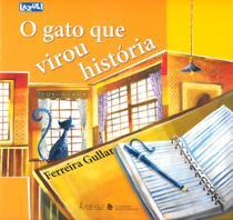 Livro - O gato que virou história -