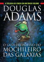 Livro - O guia definitivo do Mochileiro das Galáxias -