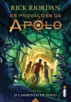 Livro - O labirinto de fogo - (Série As provações de Apolo)