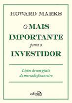 Livro - O Mais Importante para o Investidor -