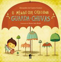 Livro - O menino que coleciona guarda chuvas -