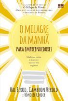 Livro - O milagre da manhã para empreendedores -