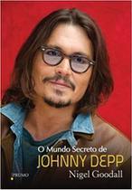 Livro - O mundo secreto de Johnny Depp -