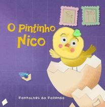 Livro - O pintinho Nico: fantoches da fazenda -