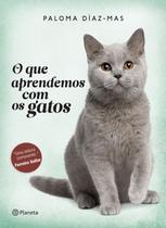 Livro - O que aprendemos com os gatos -