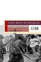 Livro - O que resta da ditadura -