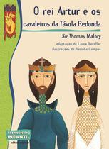 Livro - O rei Artur e os cavaleiros da Távola Redonda -