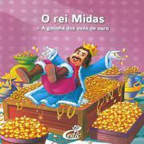 Livro o rei midas + a galinha dos ovos de ouro + dvd - Editora Cedic