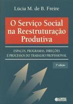 Livro - O Serviço Social na reestruturação produtiva -