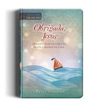 Livro - Obrigada, Jesus - Devocional -