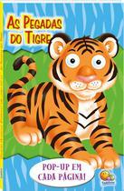 Livro - Olhinhos espertos! Um livro pop-up: pegadas do tigre -