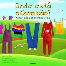 Livro - Onde está o camaleão? -