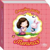 Livro - Orações para os pequeninos: orações para meninas -