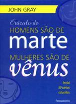 Livro - Oráculo de Homens São De Marte, Mulheres Sao de Vênus -