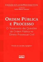 Livro - Ordem Pública E Processo: O Tratamento Das Questões De Ordem Pública No Direito Processual Civil -