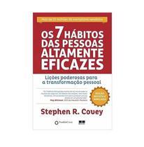 Livro Os 7 Hábitos Das Pessoas Altamente Eficazes - Bestseller