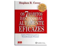 Livro - Os 7 hábitos das pessoas altamente eficazes (miniedição) -