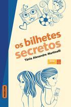 Livro - Os bilhetes secretos -