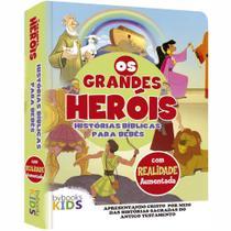 Livro Os Grandes Heróis  História Bíblica Interativa para Bebes - BvBooks