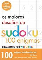 Livro - Os Maiores Desafios De Sudoku -