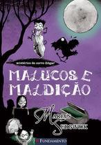 Livro - Os Misterios Do Corvo Edgar 03 - Malucos E Maldição -