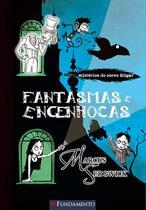 Livro - Os Misterios Do Corvo Edgar - Fantasmas E Engenhocas -