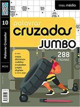 Livro - Palavras cruzadas jumbo - Nível médio - Livro 10 -