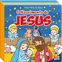 Livro - Palavrinhas de pano III: o nascimento de Jesus -