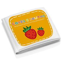 Livro para Banho Educativo Cores e Frutas - Multikids Baby -