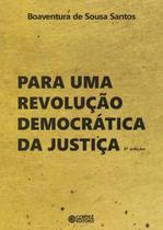 Livro - Para uma revolução democrática da justiça -