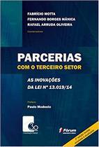 Livro - Parcerias com o terceiro setor - as inovações da lei 13.019/14 -