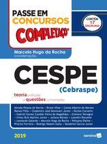 Livro - Passe em concursos - Completaço - Cespe (Cebraspe) -