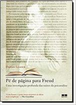 Livro - Pé de página para Freud -