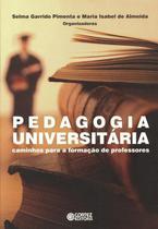 Livro - Pedagogia universitária -