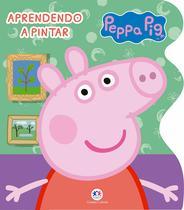 Livro - Peppa Pig - Aprendendo a pintar -