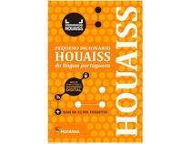 Livro Pequeno Dicionário Houaiss da Língua  - Portuguesa Instituo Antonio Houaiss  Lexicografia