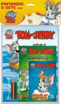 Livro - Pintando o sete com...Tom and Jerry -