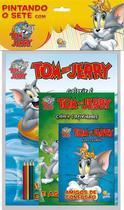Livro - Pintando o sete com...Tom and Jerry -