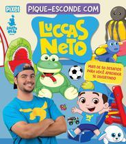 Livro - Pique-esconde com Luccas Neto -