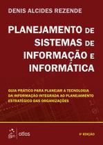 Livro - Planejamento De Sistemas De Informação E Informática -